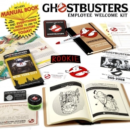 GHOSTBUSTERS EMPLOYEE WELCOME KIT DOCTOR COLLECTOR, Ghostbusters