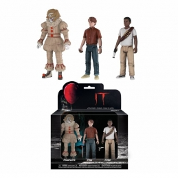 Pack 3 action figures Pennywise, Stan, Mike IT 2017 Funko, It