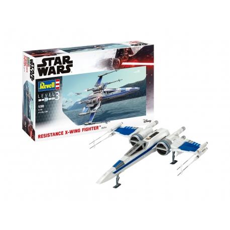 Star Wars KIT 1/50 Resistance X-Wing Fighter, Star Wars