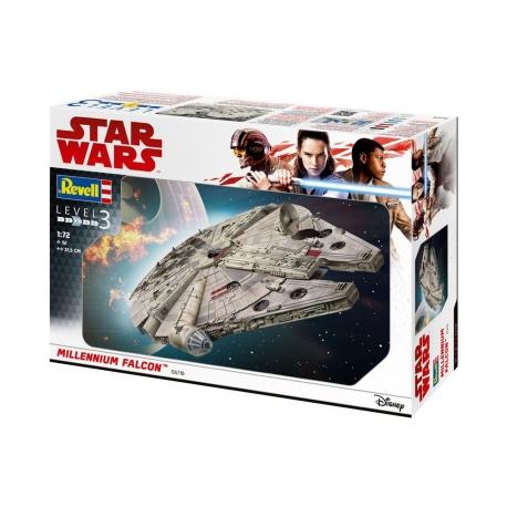 Star Wars Model Kit 1/72 Millennium Falcon REVELL, Star Wars