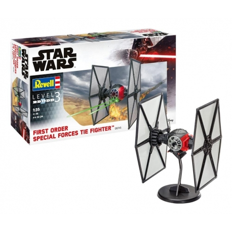 Star Wars Model Kit 1/35 Special Forces TIE Fighter REVELL