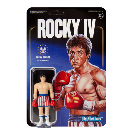 Rocky Action Figure ReAction SUPER7 Rocky 4