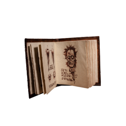 EVIL DEAD 2: BOOK OF THE DEAD NECRONOMICON PROP, Evil Dead