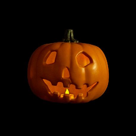 Halloween 1978 Replica Light Up Pumpkin Prop Trick or Treat
