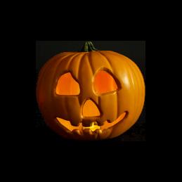 Halloween II Replica Light Up Pumpkin Prop Trick or Treat Studios