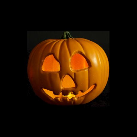 Halloween II Replica Light Up Pumpkin Prop Trick or Treat