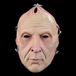 Saw Jigsaw Flesh Face Mask Trick or Treat Studios