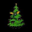Gremlins Christmas Tree Enamel Pin, Gremlins