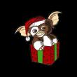 Gremlins Holiday Gizmo Enamel Pin, Gremlins