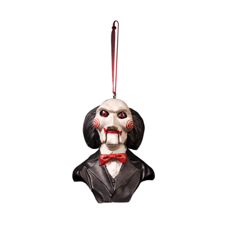 Holiday Horrors Saw Billy Puppet Ornament, Saw