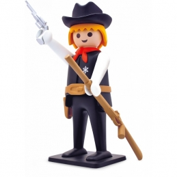 Playmobil Resin The sheriff 21cm Collection Vintage, RETRO /