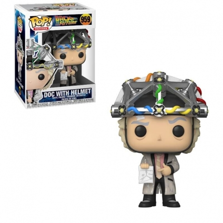 Back to the Future POP! Vinyl Figure Doc Helmet, Back To The