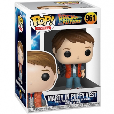 Back to the Future Pop! Vinyl Figure Marty in Puffy Vest, Back