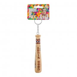 Suicide Squad Keychain Harley Quinn's Good Night Bat, SUICIDE