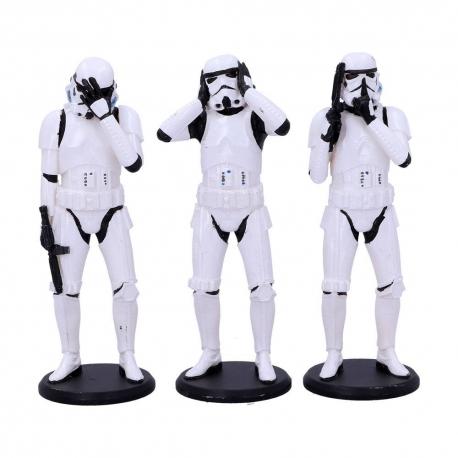Original Stormtrooper Figures 3-Pack Three Wise Stormtroopers