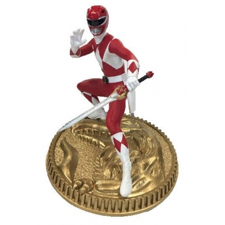 Mighty Morphin Power Rangers Action Figure Red Ranger, POWER