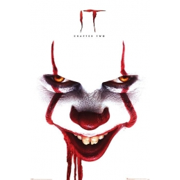 It Chapter Two Poster Pennywise Face, It