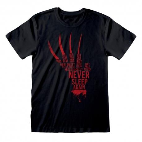 Nightmare On Elm Street T-Shirt Glove Freddy, A Nightmare On
