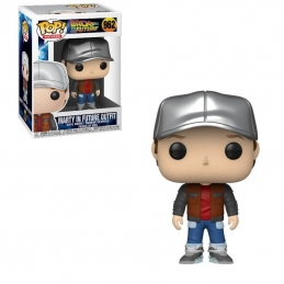 Back to the Future POP! Vinyl Figure Marty in Future Outfit