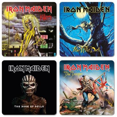 Iron Maiden Coaster Pack, IRON MAIDEN