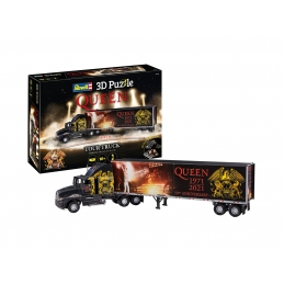 Queen Puzzle 3D Truck & Trailer Freddie Mercury
