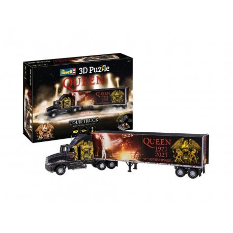 Queen Puzzle 3D Truck & Trailer Freddie Mercury, QUEEN