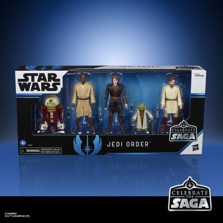 The Jedi Order Star Wars Celebrate The Saga Action Figures