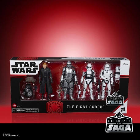The First Order Star Wars Celebrate The Saga Action Figures