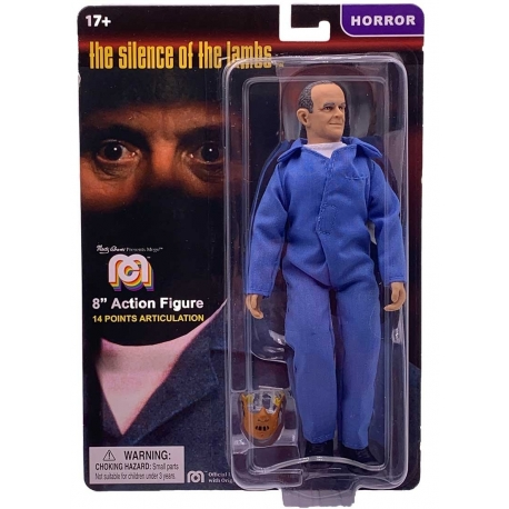 The Silence of the Lambs Action Figure Hannibal Lecter Mego