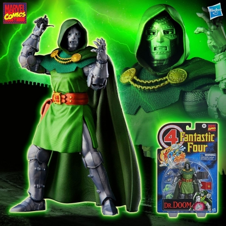 Fantastic Four Marvel Retro Collection Action Figure Dr. Doom