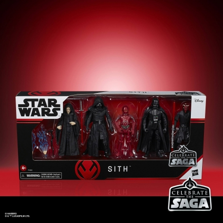 Sith Star Wars Celebrate The Saga x5 Action Figures, Star Wars