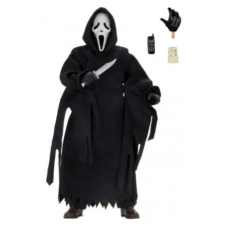 Scream Action Figure Retro Ghostface (Updated) Neca, Scream
