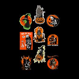 Eric Pigors Toxictoons Halloween Wall Decor -Series 1