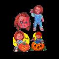 Halloween, Décoration Murale Child's Play Chucky Series 1