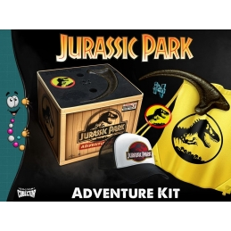 Jurassic Park Adventure Kit Box Doctor Collector, Jurassic Park