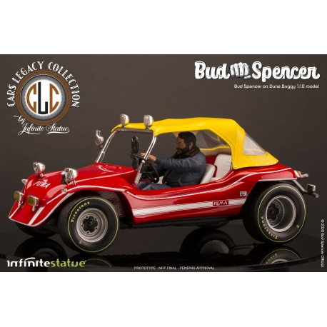Bud Spencer On Dune Buggy 1/18 Model Infinite Statue, Cinema