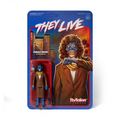Invasion Los Angeles Action Figure ReAction Female Ghoul