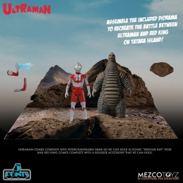 Anime Japon, 5 points Ultraman & Red King + Diorama Boxed Set