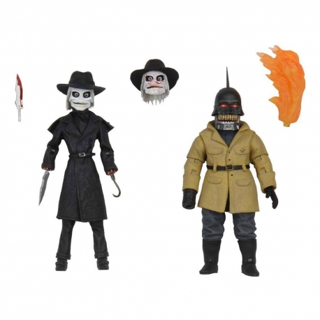 Puppet Master Ultimate Action Figure 2-Pack Blade & Torch Neca
