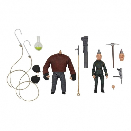 Puppet Master Ultimate Action Figure 2-Pack Pinhead & Tunneler