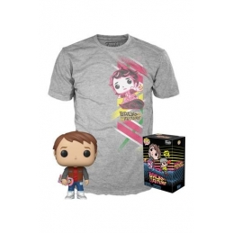 Back To The Future POP! & Tee Box Marty Heo Exclusive, Back To