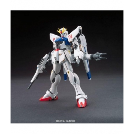 F91 Gundam Model Kit 1/144 Mobile Suit Gundam HGUC Bandai