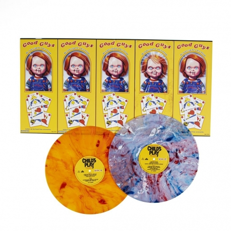 Child's Play Original Vinyl 1988 Motion Picture Soundtrack