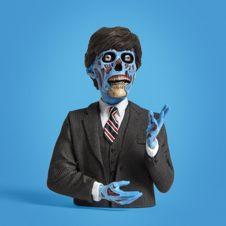 They Live Politician Spinature Vinyl Bust, They Live