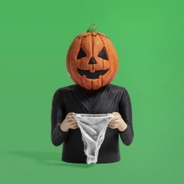 Halloween III Jack-o-Lantern Spinature Vinyl Bust