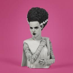 Universal Monsters The Bride of Frankenstein Spinature Vinyl Bust