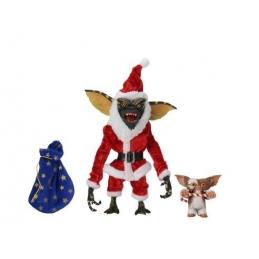 Gremlins Pack 2 Action Figures Santa Stripe & Gizmo Neca