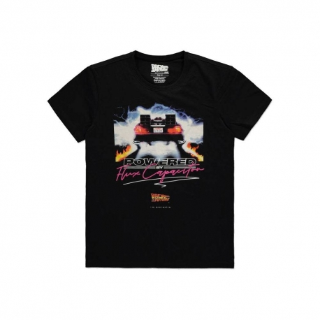Back To The Future T-Shirt Powered by Flux Capacitor, Back To