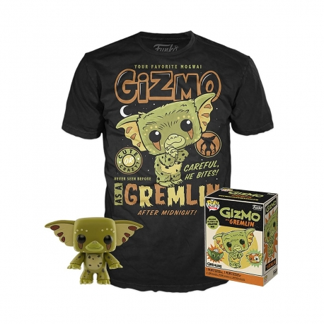 Gremlins POP! & Tee Box Gizmo Heo Exclusive, Gremlins