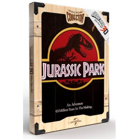 Jurassic Park WoodArts 3D Wooden Wall Art Logo, Jurassic Park